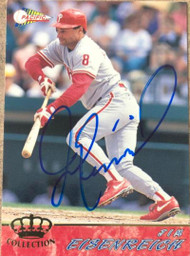 Jim Eisenreich Autographed 1994 Pacific Crown Collection #474