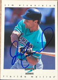 Jim Eisenreich Autographed 1997 Score #452