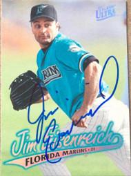 Jim Eisenreich Autographed 1997 Fleer Ultra #367