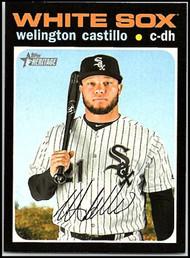 2020 Topps Heritage #177 Welington Castillo NM-MT Chicago White Sox
