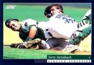 1994 Score #47 Terry Steinbach VG Oakland Athletics
