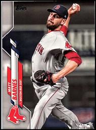 2020 Topps #60 Matt Barnes NM-MT Boston Red Sox