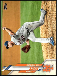 2020 Topps #128 Steven Matz NM-MT New York Mets