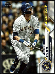 2020 Topps #143 Christian Yelich NM-MT Milwaukee Brewers