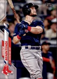 2020 Topps #196 Andrew Benintendi NM-MT Boston Red Sox