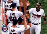 2020 Topps #213 Minnesota Twins NM-MT