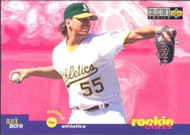 1995 Collector's Choice #18 Mark Acre VG Oakland Athletics