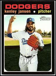 2020 Topps Heritage #36 Kenley Jansen NM-MT Los Angeles Dodgers