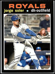 2020 Topps Heritage #35 Jorge Soler NM-MT Kansas City Royals
