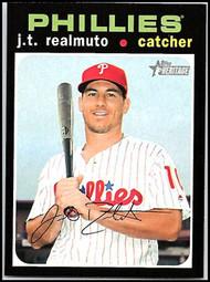 2020 Topps Heritage #75 J.T. Realmuto NM-MT Philadelphia Phillies