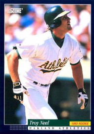 1994 Score #248 Troy Neel VG Oakland Athletics