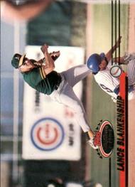 1993 Stadium Club #413 Lance Blankenship VG Oakland Athletics