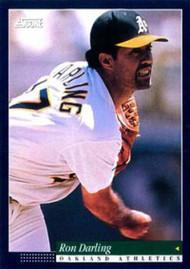 1994 Score #159 Ron Darling VG Oakland Athletics