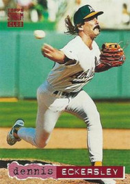 1994 Stadium Club #125 Dennis Eckersley VG Oakland Athletics