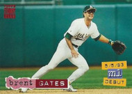 1994 Stadium Club #65 Brent Gates VG Oakland Athletics