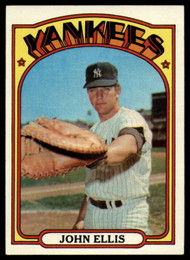 1972 Topps #47 John Ellis VG New York Yankees
