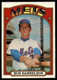 1972 Topps #53 Bud Harrelson VG New York Mets
