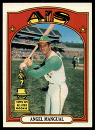 1972 Topps #62 Angel Mangual VG Oakland Athletics