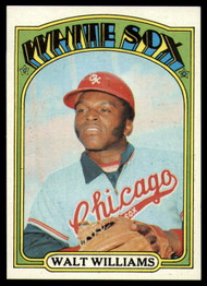 1972 Topps #15 Walt Williams VG Chicago White Sox