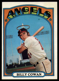 1972 Topps #19 Billy Cowan VG California Angels