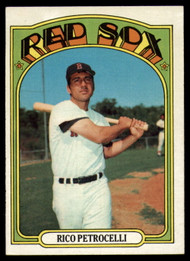 1972 Topps #30 Rico Petrocelli VG Boston Red Sox