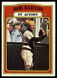 1972 Topps #40 Bob Barton IA VG San Diego Padres