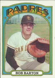 1972 Topps #39 Bob Barton VG San Diego Padres