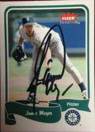 Jamie Moyer Autographed 2004 Fleer Tradition #302