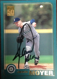 Jamie Moyer Autographed 2001 Topps #450