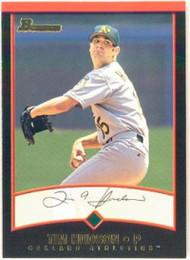 2001 Bowman #96 Tim Hudson VG Oakland Athletics