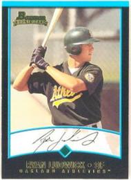 2001 Bowman #373 Ryan Ludwick VG RC Rookie Oakland Athletics