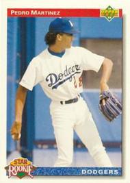 1992 Upper Deck #18 Pedro Martinez VG Los Angeles Dodgers