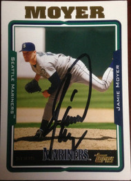 Jamie Moyer Autographed 2005 Topps #554