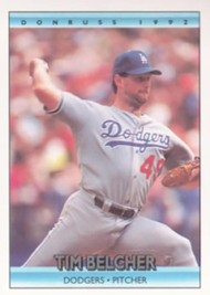 1992 Donruss #78 Tim Belcher VG Los Angeles Dodgers