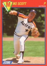 SOLD 88392 1989 Score Baseball's 100 Hottest Players #60 Mike Scott NM-MT Houston Astros