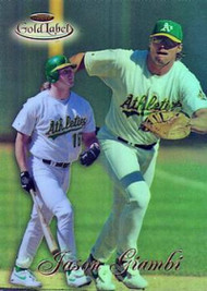 1998 Topps Gold Label Class 1 #38 Jason Giambi NM-MT Oakland Athletics