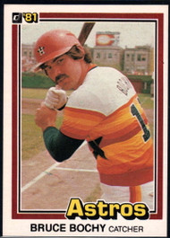 1981 Donruss #20 Bruce Bochy NM-MT Houston Astros