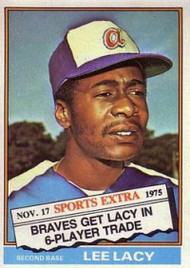 1976 Topps Traded #99T Lee Lacy VG Atlanta Braves