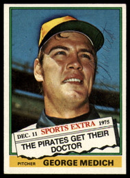 1976 Topps Traded #146T Doc Medich VG Pittsburgh Pirates
