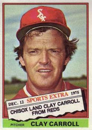 1976 Topps Traded #211T Clay Carroll VG Chicago White Sox