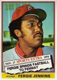 1976 Topps Traded #250T Fergie Jenkins VG Boston Red Sox