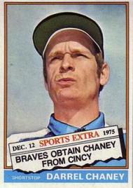 1976 Topps Traded #259T Darrel Chaney VG Atlanta Braves