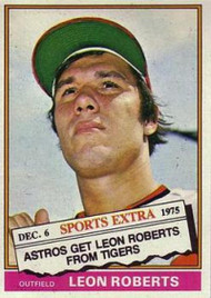 1976 Topps Traded #292T Leon Roberts VG Houston Astros