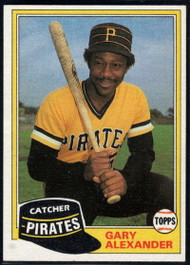 1981 Topps Traded #729 Gary Alexander NM-MT Pittsburgh Pirates