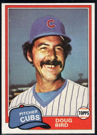 1981 Topps Traded #737 Doug Bird NM-MT Chicago Cubs