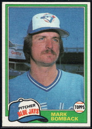 1981 Topps Traded #739 Mark Bomback NM-MT Toronto Blue Jays