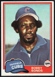 1981 Topps Traded #740 Bobby Bonds NM-MT Chicago Cubs