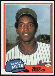 1981 Topps Traded #742 Hubie Brooks NM-MT New York Mets
