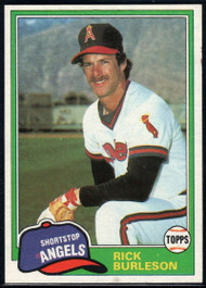 1981 Topps Traded #743 Rick Burleson NM-MT California Angels