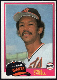 1981 Topps Traded #746 Enos Cabell NM-MT San Francisco Giants